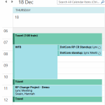 Productivity tip: automatically color appointments in Outlook calendar (conditional formatting)